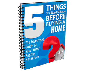 5 things you need to know before buying a home